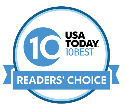 USA Today 10 best readers' choice logo